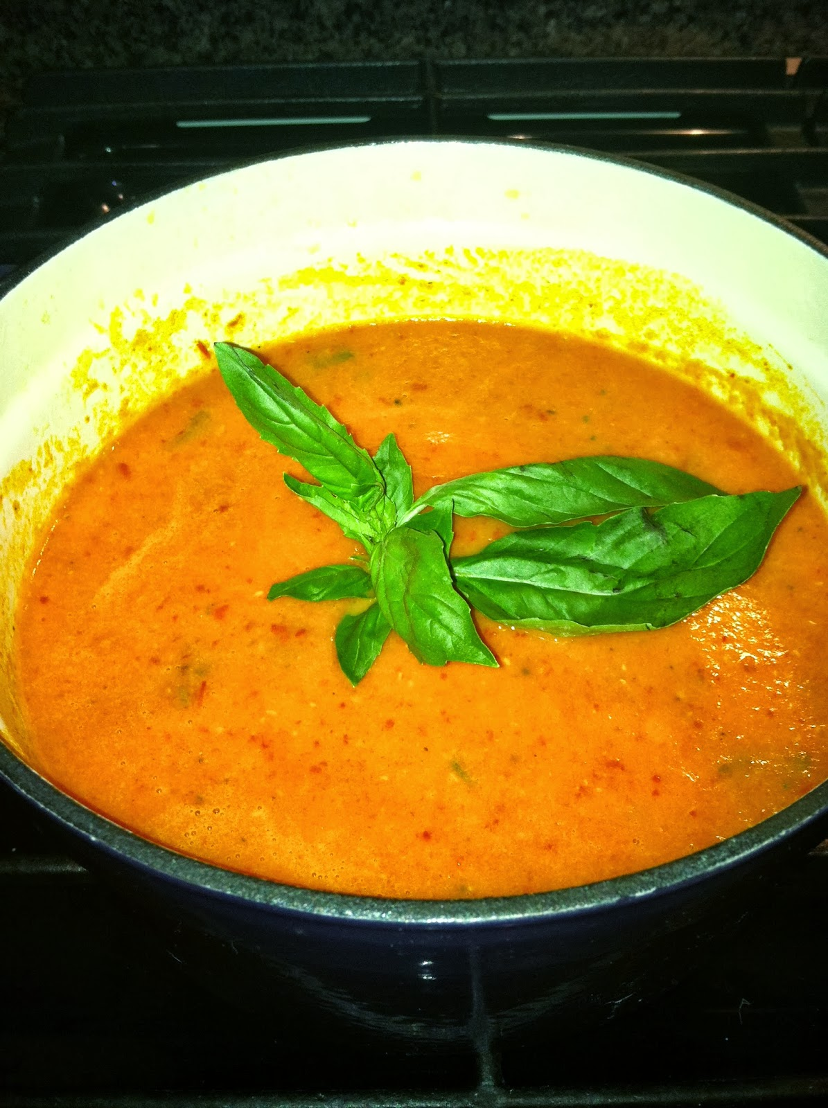 Roasted Heirloom tomato and Red Pepper Soup – Yvette's ...