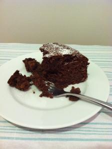 Chocolate Fig Cake Piece