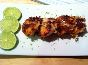 Coconut Lime Shrimp 06102014