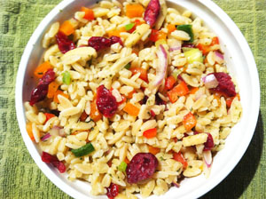 Orzo Pasta Salad photoshop