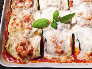 Eggplant Rollitini photoshop