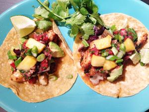 Fish Tacos photoshop