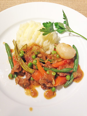 Navarin of Lamb photoshop