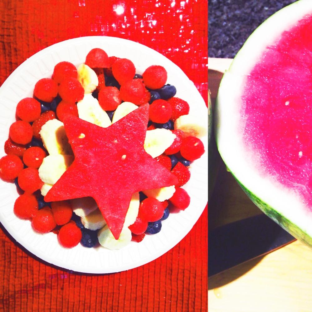 fresh fruit july 4th photoshop