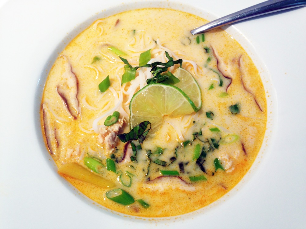 Lemongrass Red Thai Soup