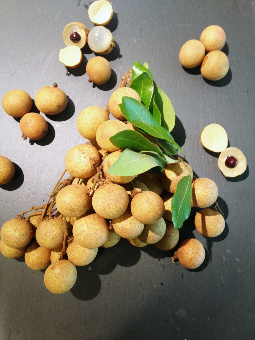 Longan Fruit photoshop