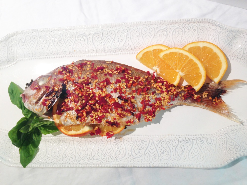 Red Snapper in Chili Sauce