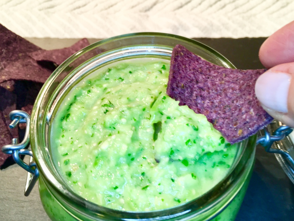 avocado salsa verde 1