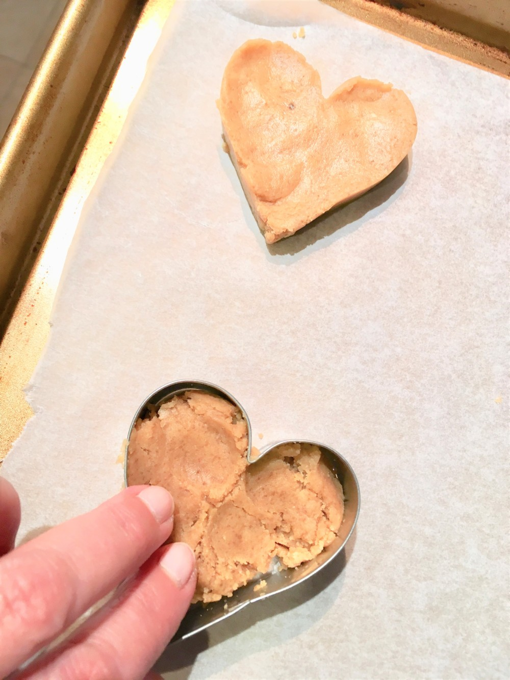 peanut butter cookie in mold1