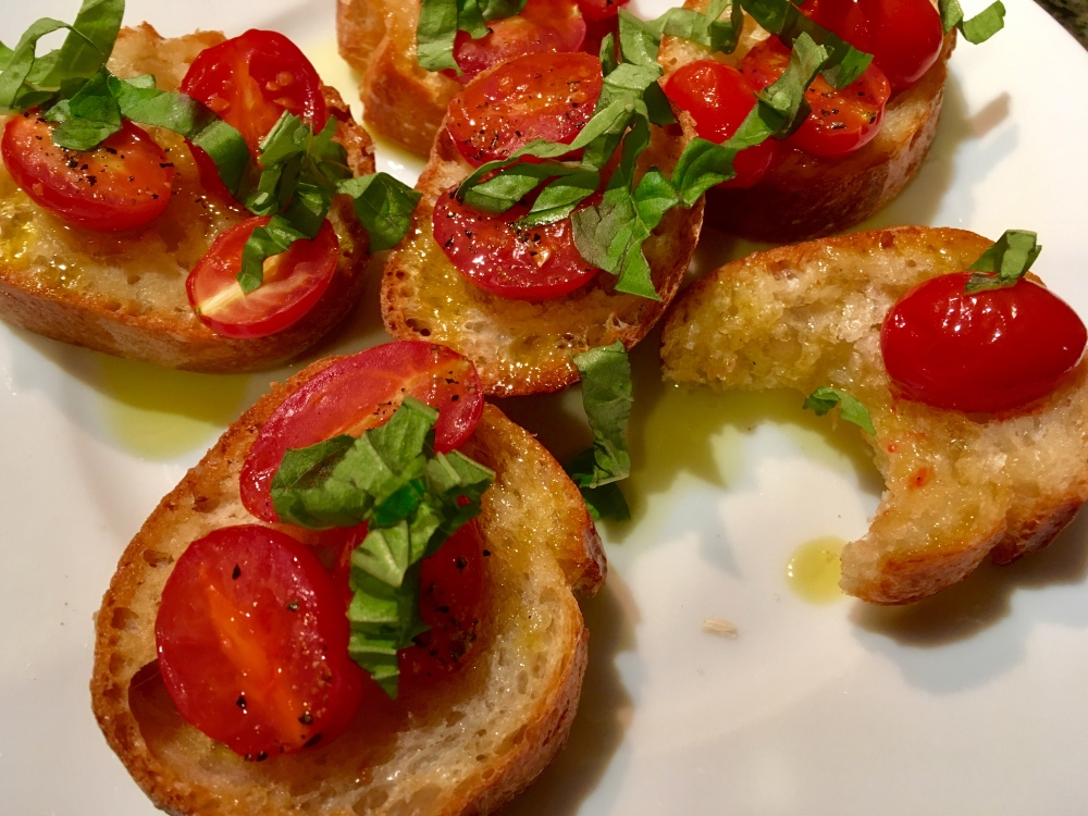 bruschetta bite