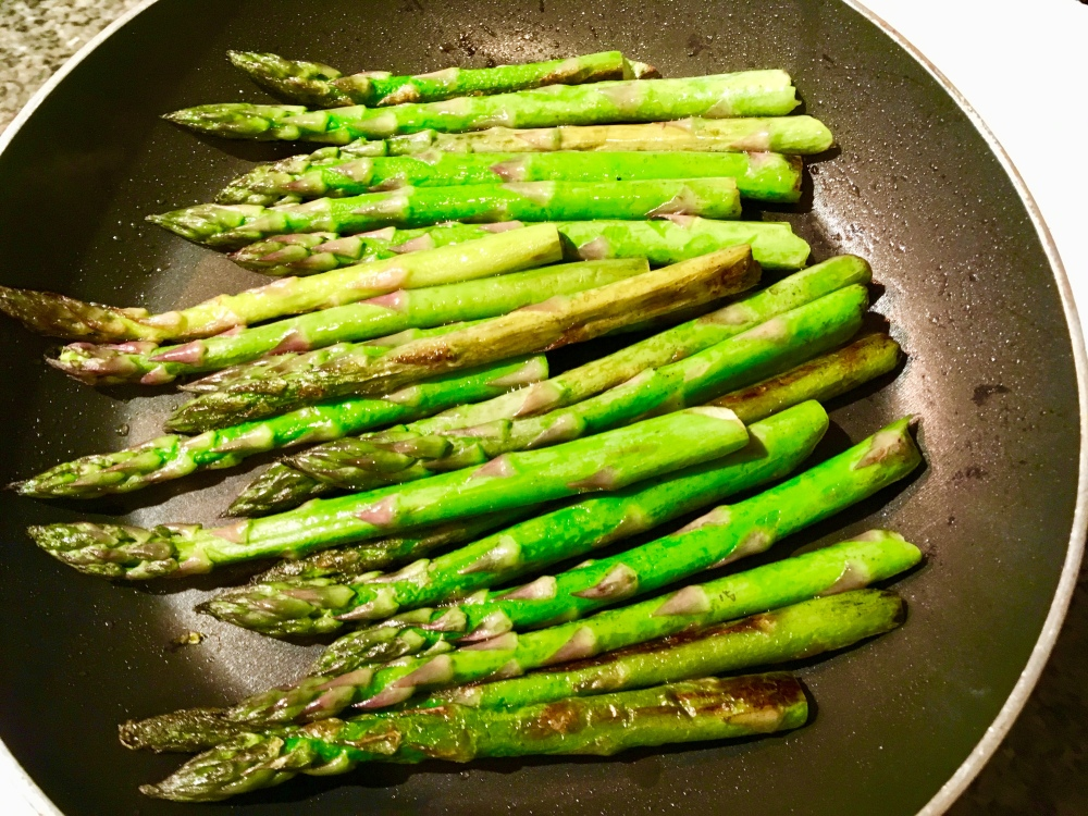 asparagus sauteed